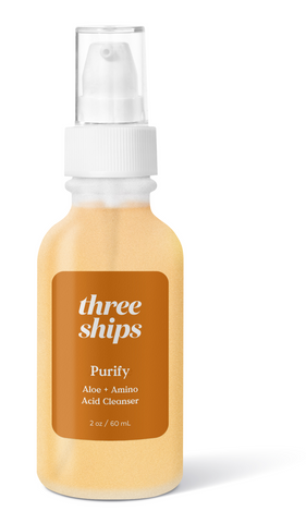 three ships purify aloe amino acid cleanser