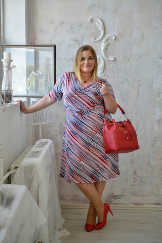 Milano plus size dress