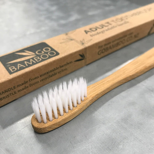 Throwaway facts: Aussies throw around 50 million toothbrushes into landfill every year. But make the switch to bamboo, and you can bush clean without the guilts.