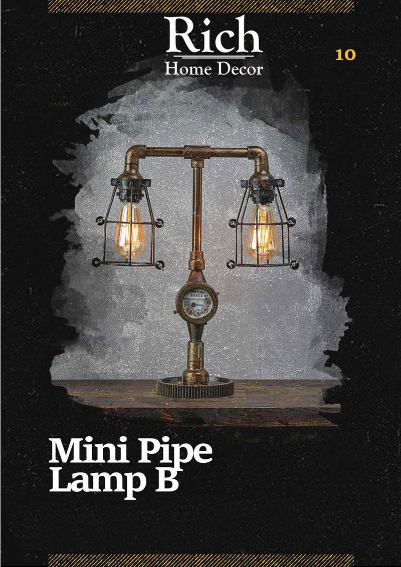 Mini Pipe Lamp B
