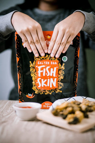RAFINS Fish Skin Snack ( Hampers )