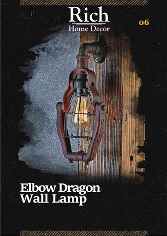 Elbow Dragon Wall Lamp