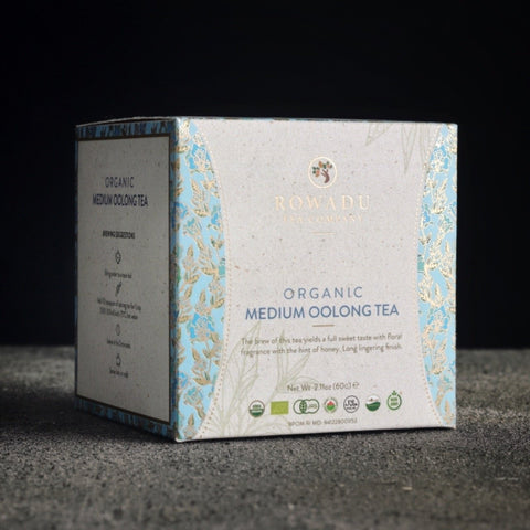 Organic Medium Oolong Tea