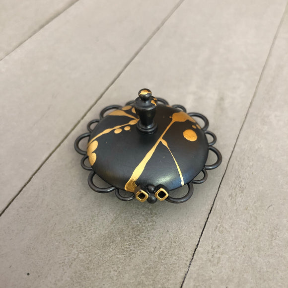Splatter Bee Ring Dish
