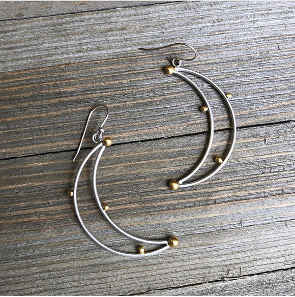 Moon Dangle Earring (BME27)