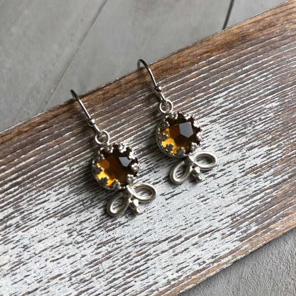 Honey Drops Earring