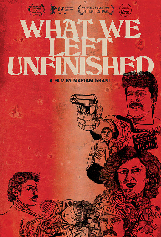 What We Left Unfinished DVD Cover Art