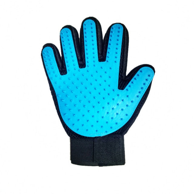 SILICONE PET GROOMING GLOVE