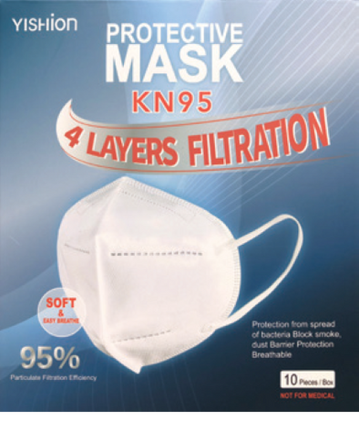 FACE MASK KN95 4PLY 10PK