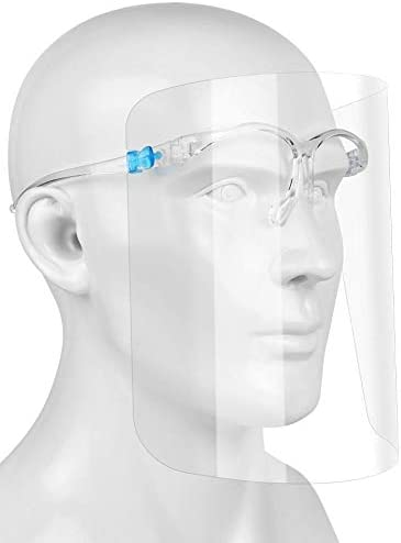 EYEGLASS FACE SHIELD