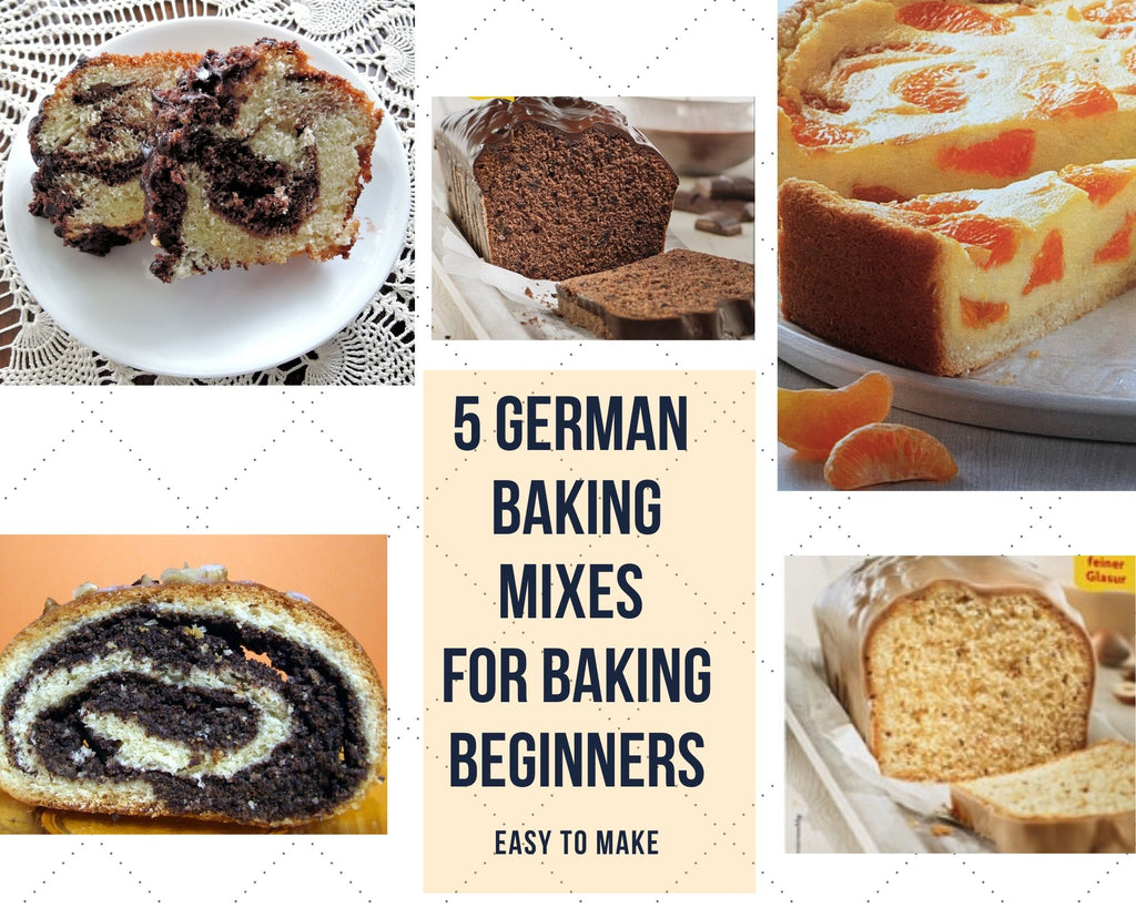 5 German Baking Mixes for Baking Beginners