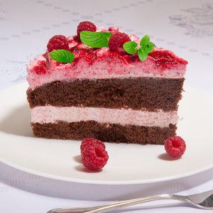 German Chocolate Raspberry  Cake