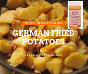 edora fried potatoes seasoning  - made in germany - spice for fried potatoes