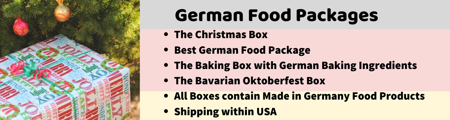 german food packages with made in germany products