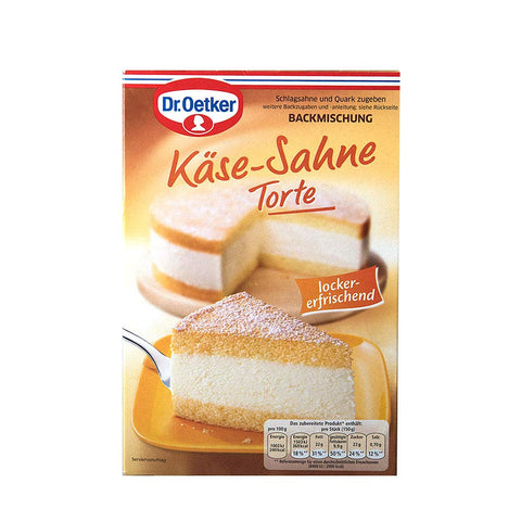 German Cream Cheese Baking Mix Dr Oetker - Käse-Sahne Torte 13.5oz