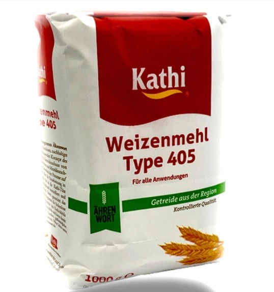 german wheat flour from Kathi - type 405