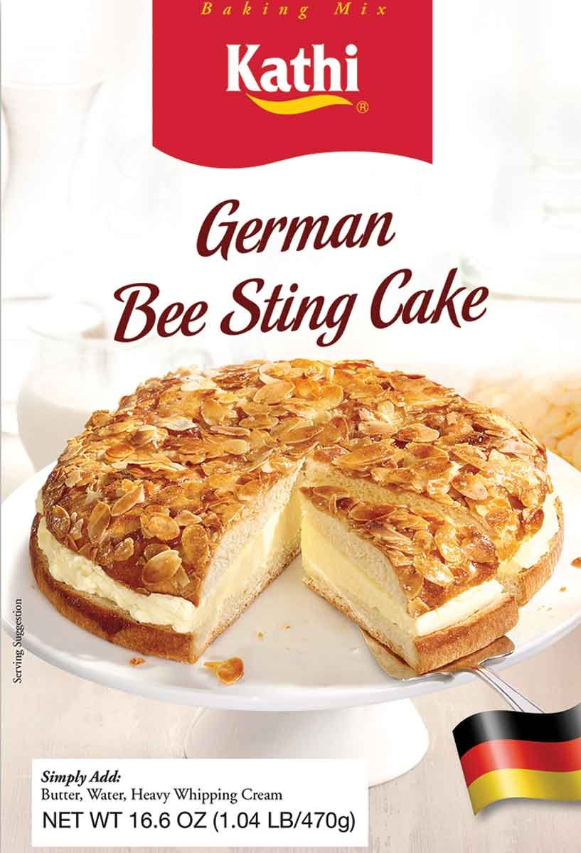 german bienenstich bee sting cake baking mix