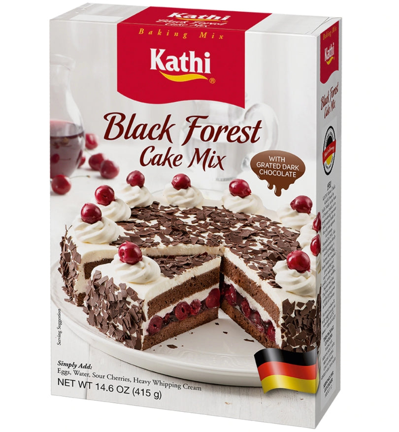 german black forest cake - kathi baking mix Made in Germany