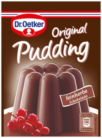 Dark Chocolate pudding Dr Oetker 3 pack