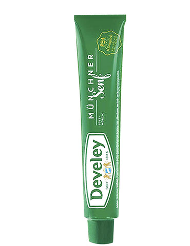 german develey mustard sweet Bavarian style in tube