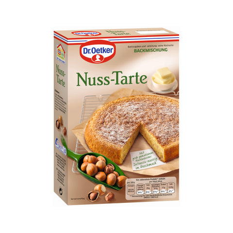Dr Oetker German Nuss Tarte Baking Mix - Hazelnut Cake 14oz