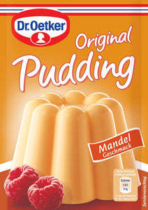 Original German Almond Pudding Dr Oetker 3 pack
