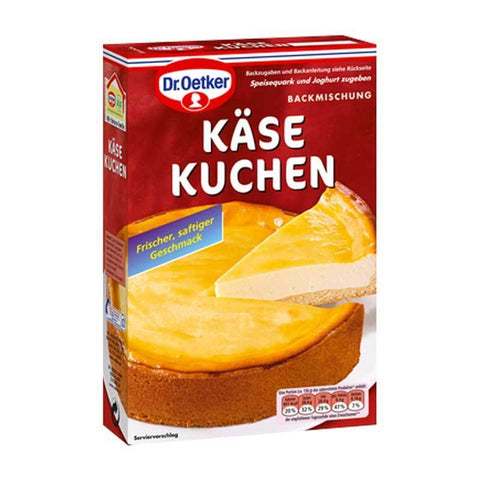 german cheese cake baking mix from Dr oetker from lovegermanfood.com