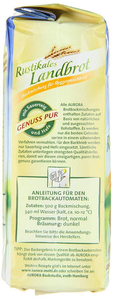German bread baking mix - from Aurora - Imported fromGermany