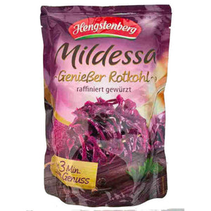 German Red Cabbage in Pouch from Hengstenberg - Made in Germany