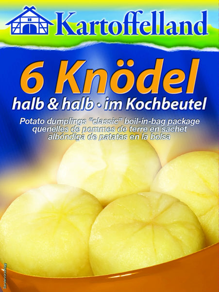 German Potato Dumplings Half and Half-Kartoffelland 11oz