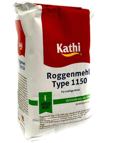 German Rye Flour Kathi 405 - Made in Germany - 2lb