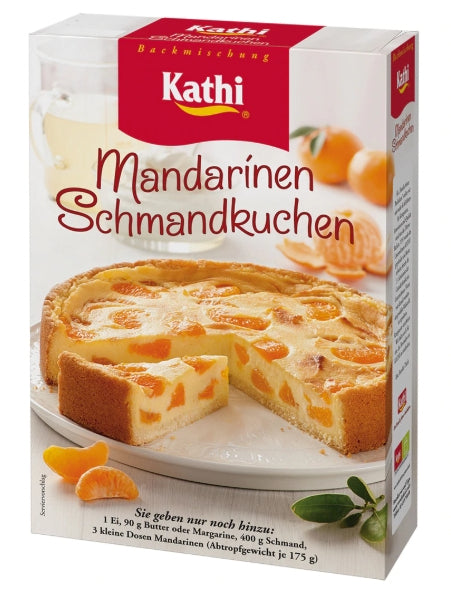 Kathi Mandarin Oranges Cream Cake Mix - Authentic Schmandkuchen 16.2oz