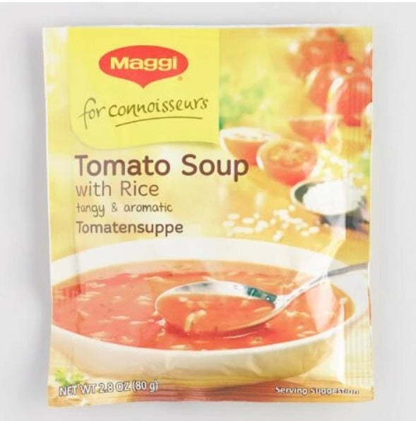 German Maggi Tomato Soup With Rice - Non-GMO, all natural