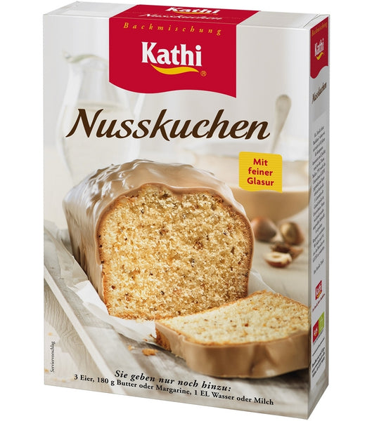german hazelnut cake kathi baking mix made in germany