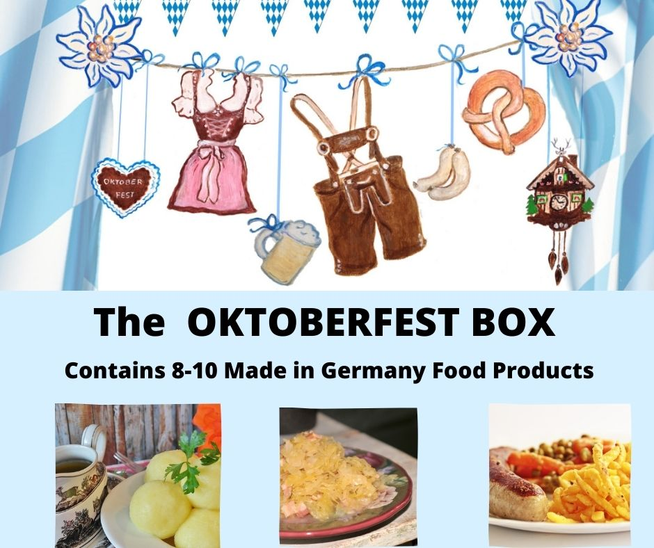 german oktoberfest box with german goodies