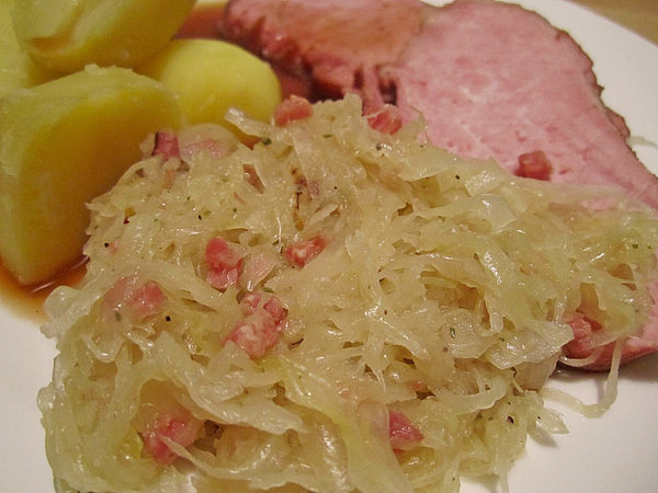 German Sauerkraut in Pouch from Hengstenberg - Made in Germany