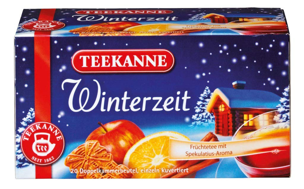 German Winter Tea Teekanne Winterzeit Imported from Germany