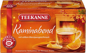 German Holiday Tea Kaminabend from Teekanne - Imported from Germany