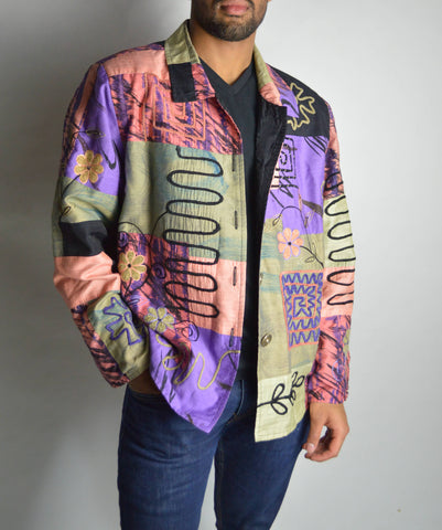 Vintage Patterned Jacket