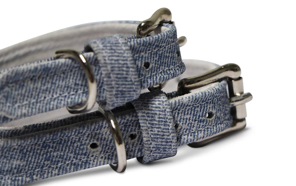 Oh! Denim Dog Collar