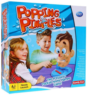 POPPING PIMPLES GAME