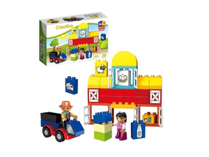 Creative Happy Farm Mega Blocks C2804