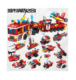 Fire Brigade Mini Blocks C019