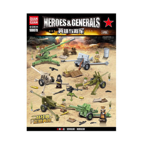 Heroes And Generals Mini Blocks 100078