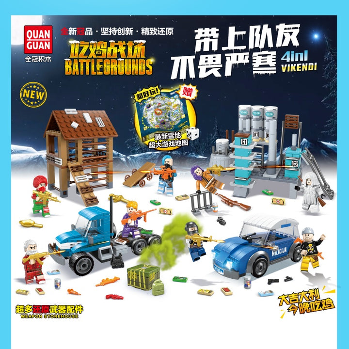 Battlegrounds Mini Blocks 100060