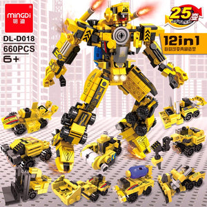 Truck Robot Mini Blocks DL-D018