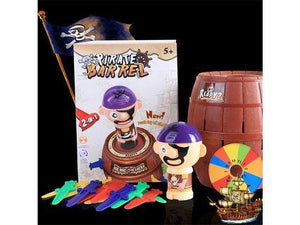 Funny Game Pirate Barrel