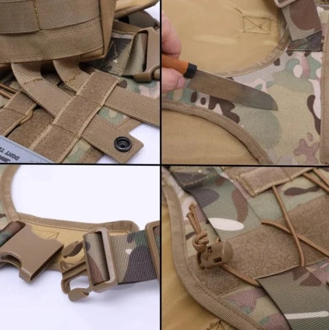 HoundGear™ Tactical Dog Vest - Sparbi.com