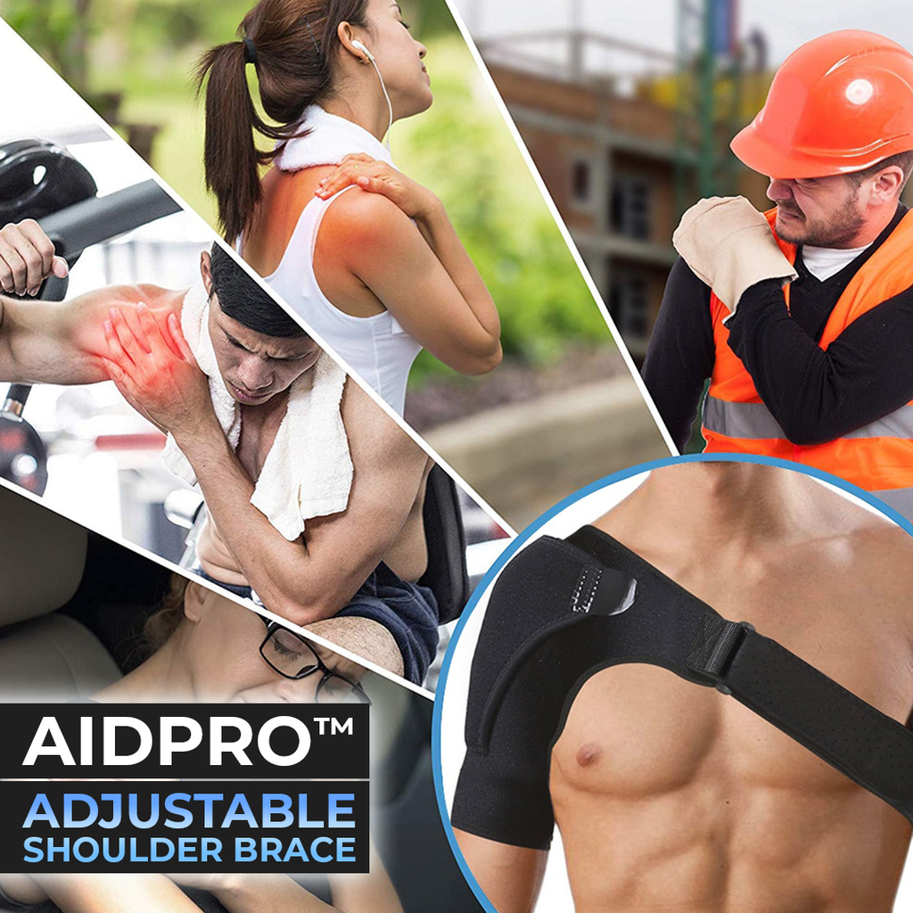 AidPro™ Adjustable Shoulder Brace - Sparbi.com