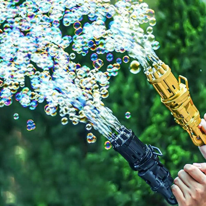 BubbleBomb™ Bubble Maker Gun
